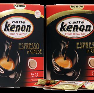 Kenon espresso in cialde 50